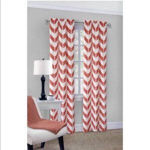 💖Chevron Polyester/Cotton Curtain Panel Pair💖